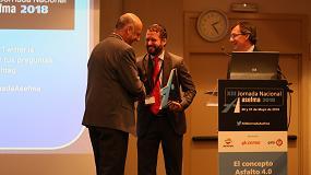 Foto de Asefma premia una investigación sobre capas de rodadura ultrafinas de la Universidad Politécnica de Cataluña