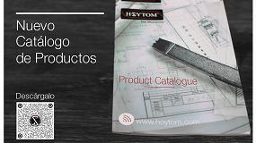 Picture of Nuevo catálogo de producto de Hoytom listo para ser descargado