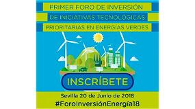 Fotografia de Primer foro de inversión para el desarrollo energético sostenible de Andalucía
