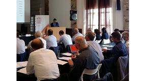Foto de Fegeca, en la Asamblea General de la EHI