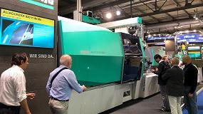 Picture of Debut internacional de la inyectora Allrounder 820 H en Italia