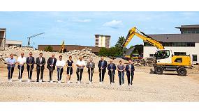 Foto de Comienzan las obras para la construcción del nuevo centro logístico de Liebherr en Kirchdorf