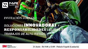 Foto de Mape Seguridad y 3M organizan la jornada 'Soluciones innovadoras y responsabilidades legales en trabajos de alto riesgo'