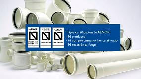 Foto de adequa obtiene la certificación N de Aenor de comportamiento frente al ruido para su sistema de evacuación insonorizada AR