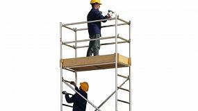 Fotografia de Seguridad en andamios y torres móviles