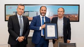Picture of Eiffage Energía recibe nuevos certificados de Aenor de seguridad y salud laboral