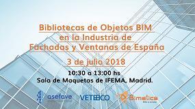 Foto de Jornada sobre objetos BIM en la industria de fachadas y ventanas de España