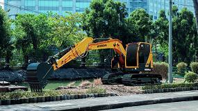 Foto de Hyundai Construction Equipment lanza la nueva excavadora de orugas HX130 LCR