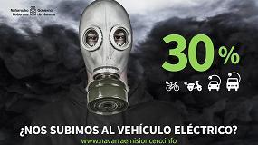 Picture of La matriculación de vehículos eléctricos en Navarra creció un 82% en 2017