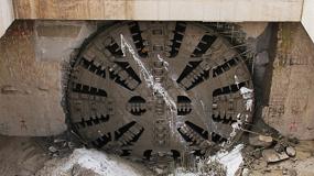 Foto de La tuneladora 'La Carolina' culmina su trayecto en el Metro de Quito