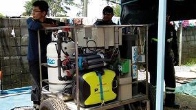 Foto de Dinotec potabiliza agua en Guatemala de mano de Busf España