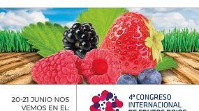 Foto de Grupo Agrotecnología presente en el 4º Congreso Internacional de Frutos Rojos