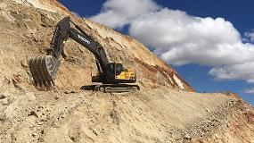 Foto de Las excavadoras Volvo ayudan a poner algo de brillo en la extracción minera del cromo