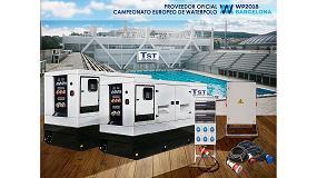 Foto de TST instalará la potencia eléctrica para el Campeonato Europeo de Waterpolo en las piscinas Bernat Picornell