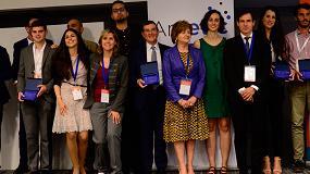 Foto de Google Actívate, Samsung Tech Institute, Oracle Academy, Stem talent girl y Cisco networking Academy, ganadores de la I edición de los 'Digital Skills Awards'