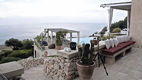 Foto de Mapei participa en la restauración del edificio Le Capase Resort