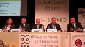 """Foto de """"Para alcanzar los nuevos objetivos de reciclado de la Unión Europea son esenciales los materiales de calidad que obtienen los recicladores"""": Ion Olaeta, presidente de FER"""