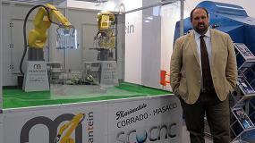 Foto de Mantein presenta su nueva división Robotics para la automatización de máquina-herramienta
