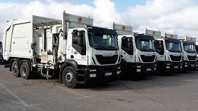 Foto de Valoriza Servicios Medioambientales adquiere diez vehículos a Geesinknorba España para dar servicio a la ciudad de Ibiza
