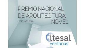 Foto de Itesal convoca el I Premio Nacional de Arquitectura Novel Itesal Veteco 2018