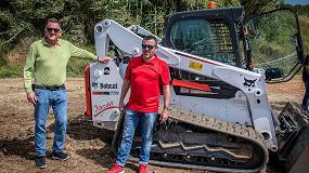 "Foto de Transports i Excavacions Jocar obtiene con la mini Bobcat T770 ""una verdadera porta herramientas"""