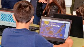 Foto de El colegio CEIP Villas de Firgas de Gran Canaria, referente en innovación educativa