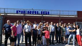 Foto de El Centro de Interpretación Olivar y Aceite visita las fábricas de Pieralisi en Italia