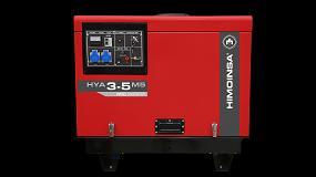 Foto de Himoinsa presenta su nuevo generador portátil insonorizado, compacto y fácil de transportar