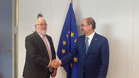 Foto de El presidente de Aragón aplaude la idea de un fondo europeo para la reconversión de zonas mineras