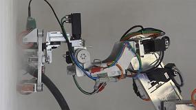 Foto de Bots2Rec, el robot autónomo que desmantela estructuras de amianto