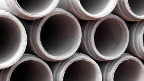 Foto de NSK resuelve los problemas ocasionados por los fallos en los rodamientos en una planta de fabricación de tuberías de hormigón
