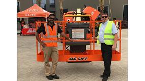 Foto de JLG entrega las primeras máquinas a Al Laith
