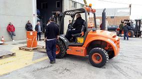 Foto de Tecnitel realiza cursos de prevención de riesgos laborales para operarios de maquinaria