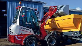 Foto de Mecalac Group adquiere la producción de la marca Pichon de cargadoras compactas de ruedas