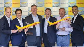 Foto de DHL Express fortalece su red intercontinental con el pedido de 14 nuevos aviones Boeing 777 Freighters
