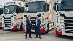 Foto de El Grupo Fuentes suma 30 unidades Scania S500 a su flota
