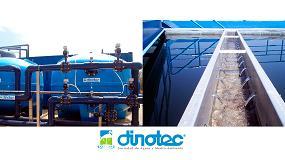 Foto de Dinotec realizará las obras de mejora y ampliación de la ETAP de Bornova (Guadalajara)