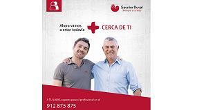 Foto de A tu lado: Todos los servicios de Saunier Duval para el profesional en un único número de teléfono