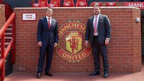 Foto de Kohler, nuevo socio principal del Manchester United