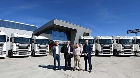 Foto de Transportes Juan José Gill incorpora 10 unidades Scania