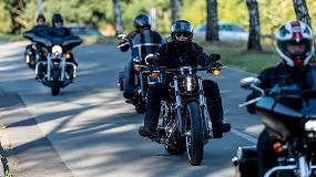 Foto de Hasco celebra su salida anual con clientes en moto