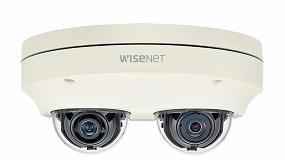 Foto de Hanwha Techwin presenta la cámara multidireccional Wisenet P de 2 canales