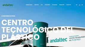 Foto de Andaltec estrena nueva web corporativa, que permite solicitar presupuestos vía web