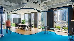 Foto de PVC en la nueva sede del Club Med en Shanghái