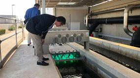 Foto de Facsa construye un sistema piloto de filtrado biológico en la EDAR de Los Alcázares (Murcia)