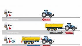Foto de New Holland introduce un sistema inteligente de frenado de remolque en los tractores T7 y T6 AutoCommand