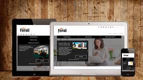 Foto de Ferroli lanza su nueva web corporativa más funcional e intuitiva