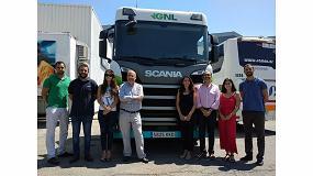 Foto de Gasnam se interesa por la oferta de gas de Scania