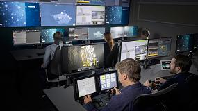 Foto de Nueva torre de control Epiroc, la mina digital en acción