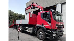 Foto de Ripotrans vuelve a confiar en Transgrúas con la adquisición de una grúa Fassi y una carrocería portamaquinaria